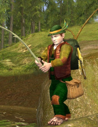 Fishing in LOTRO from LOTROStylist.wordpress.com